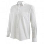 CHEMISE HOMME ML SERVICE BLANC